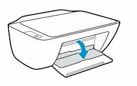 Impresora HP DeskJet abra la puerta de acceso a los cartuchos de tinta