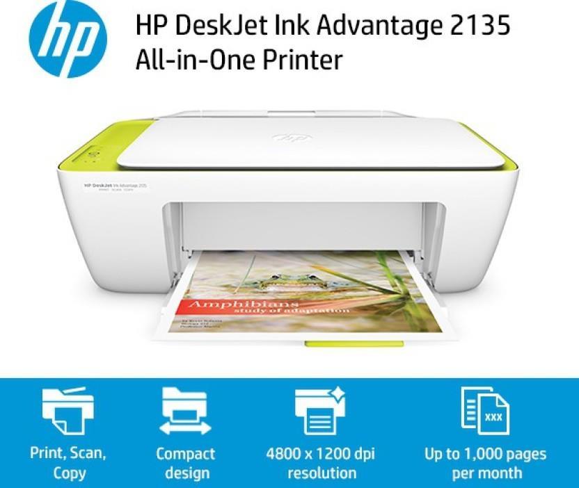 Como Instalar una Impresora HP DeskJet 2135