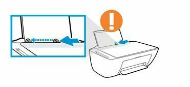 deslice la guia de ancho del papel hacia la izquierda#