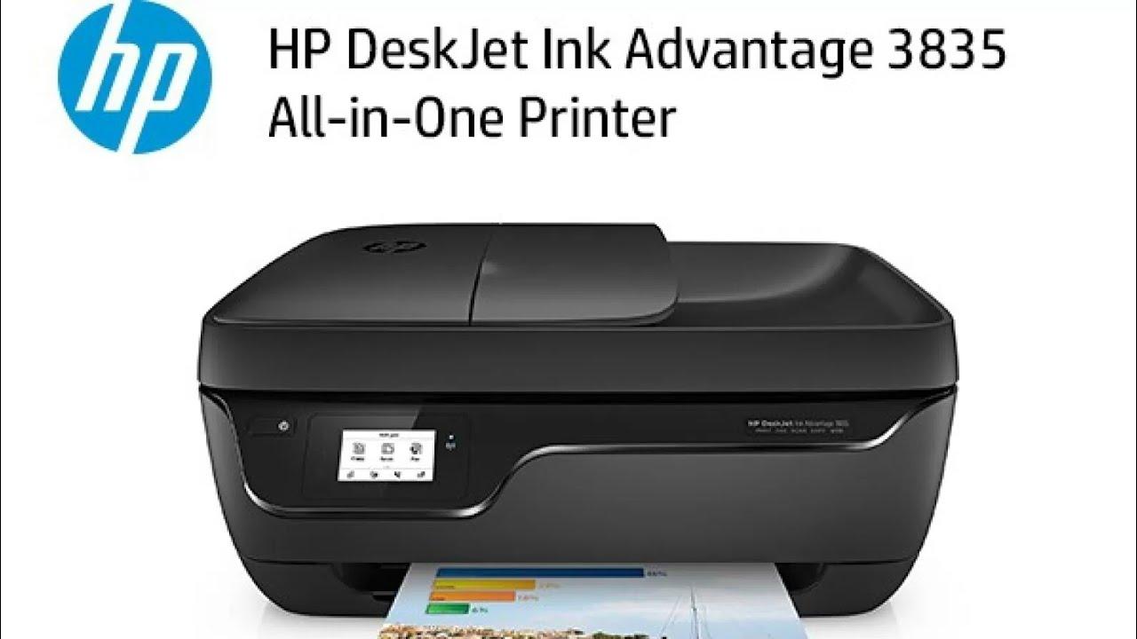 Como Instalar una Impresora HP DeskJet 3835