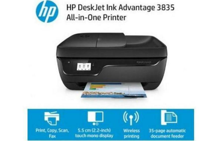 como instalar impresora HP Deskjet 3835