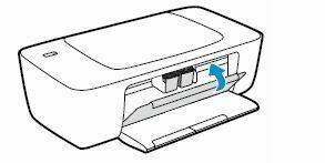 cierre compuerta a cartuchos HP DeskJet 1110