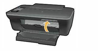 cierre puerta de acceso a los cartuchos HP DeskJet 1050