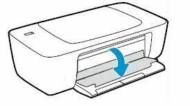 compuerta a cartuchos de tinta HP DeskJet 1110