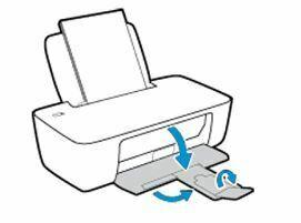 extienda bandeja de salida HP DeskJet Ink Advantage 1115