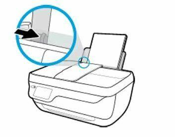 guia hacia la derecha impresora HP officejet 3830