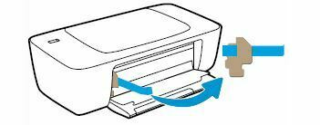 quitar embajale interior HP DeskJet Ink Advantage 1115