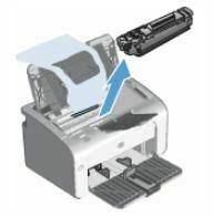 retire el cartucho de impresion HP LaserJet P1108