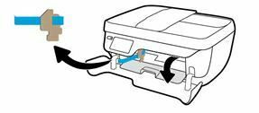 retire la cinta del interior de la impresora OfficeJet 3830