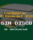 Configurar Impresora HP DeskJet 2135 sin disco