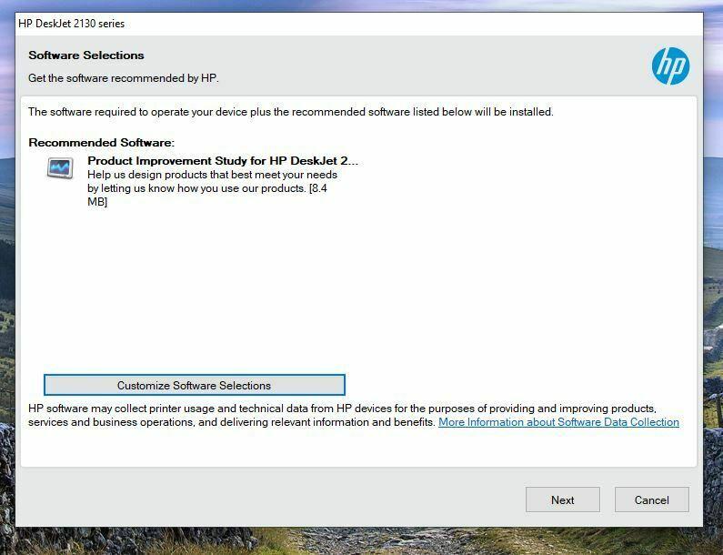 Instalar HP DeskJet Ink Advantage 2134 Driver