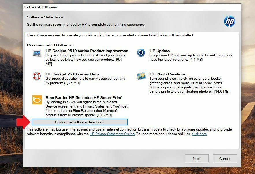 Instalar impresora HP DeskJet 2515 driver