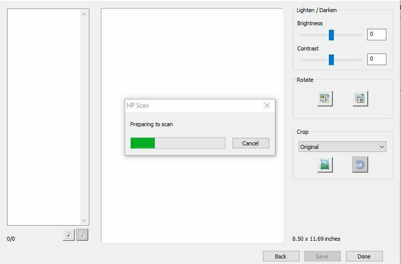 processo de impresion hp deskjet Como escanear en una Impresora HP