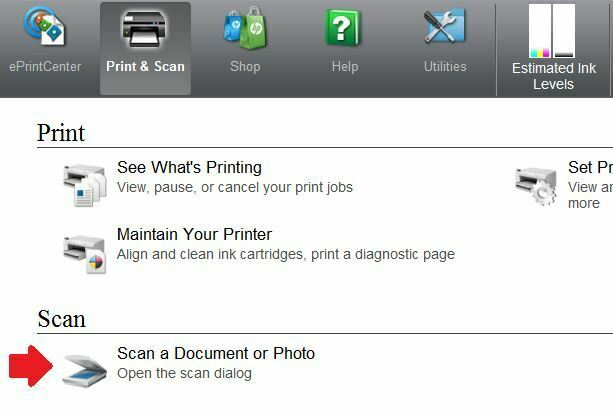 scan a document Como escanear en una Impresora HP