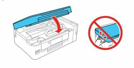 Impresora epson ET-2650 baje la tapa del escaner