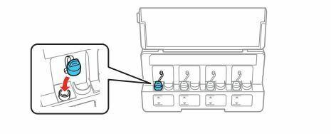 Impresora epson ET-2650 coloque el tanque
