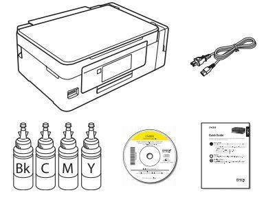 Impresora epson ET-2650 componentes