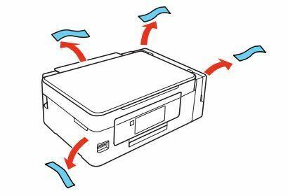 Impresora epson ET-2650 embalaje