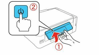 Impresora epson ET-2650 encender