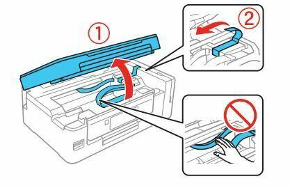 Impresora epson ET-2650 levante unidad del escaner