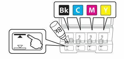 Impresora epson ET-2650 llenar tinta