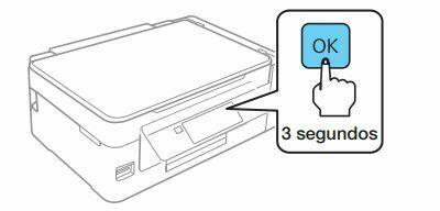 Impresora epson ET-2650 presiona y manten