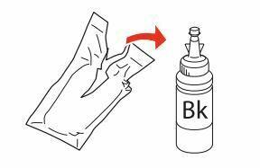 botella de tinta