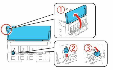 como instalar una Impresora epson ET-2650 tinta