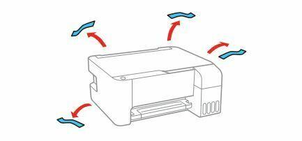 impresora Epson L3110 RETIRE EMBALAJE