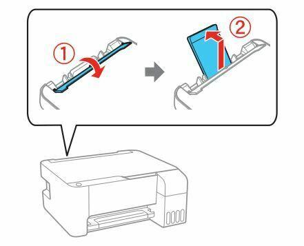 impresora Epson L3110 cargar papel