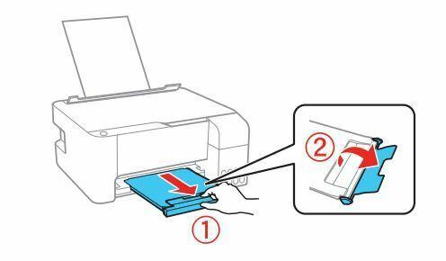 impresora Epson L3110 extienda bandeja