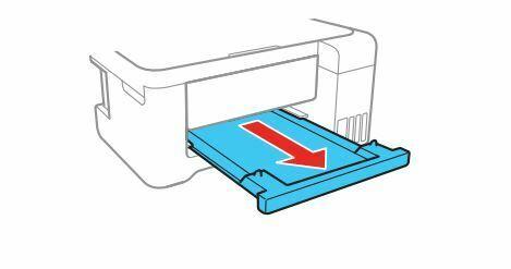 impresora Epson L4150 extienda bandeja de salida