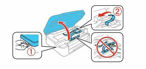 Epson L380 proteccion del interior