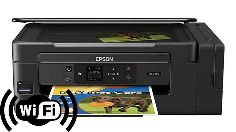 🥇 Como instalar una impresora EPSON ET-2650 por WiFi
