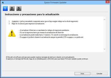 Epson L355 por WiFi firmware
