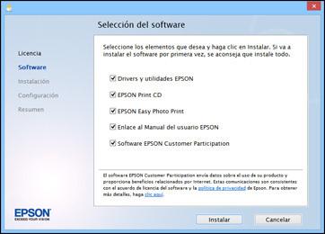 Epson L355 por WiFi instalar