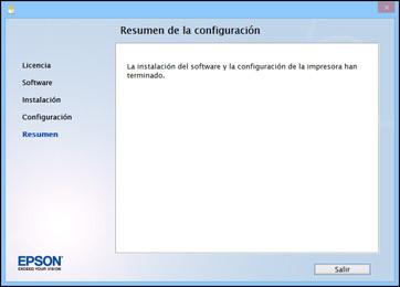 Epson L355 por WiFi resumen de configuracion