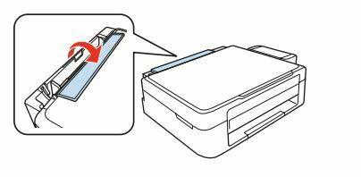 Impresora Epson L355 cargar papel
