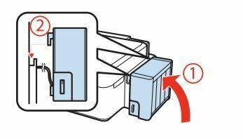 Impresora Epson L355 cierre unidad de tanques de tinta