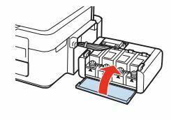 Impresora Epson L355 cierre unidad de tanques de tintas