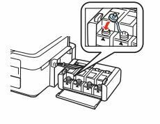 Impresora Epson L355 coloque le tapon