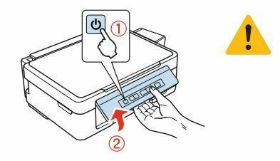 Impresora Epson L355 encender impresora