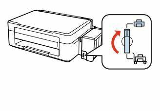 Impresora Epson L355 verifique el bloqueo
