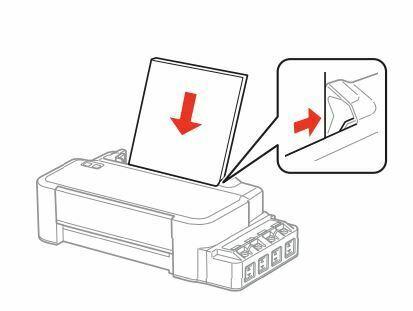 Epson L120 colocar papel