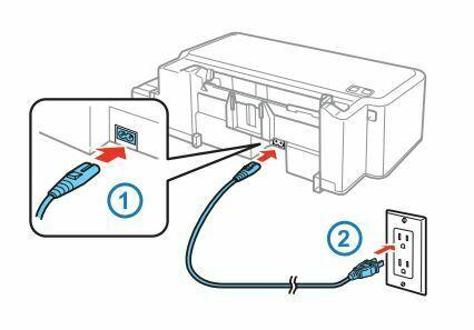 Epson L120 conectar y encender