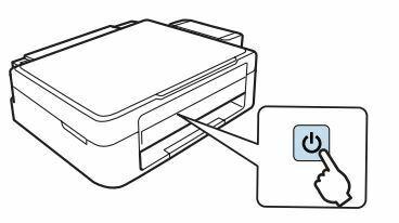 Epson L210 presionar boton encendido