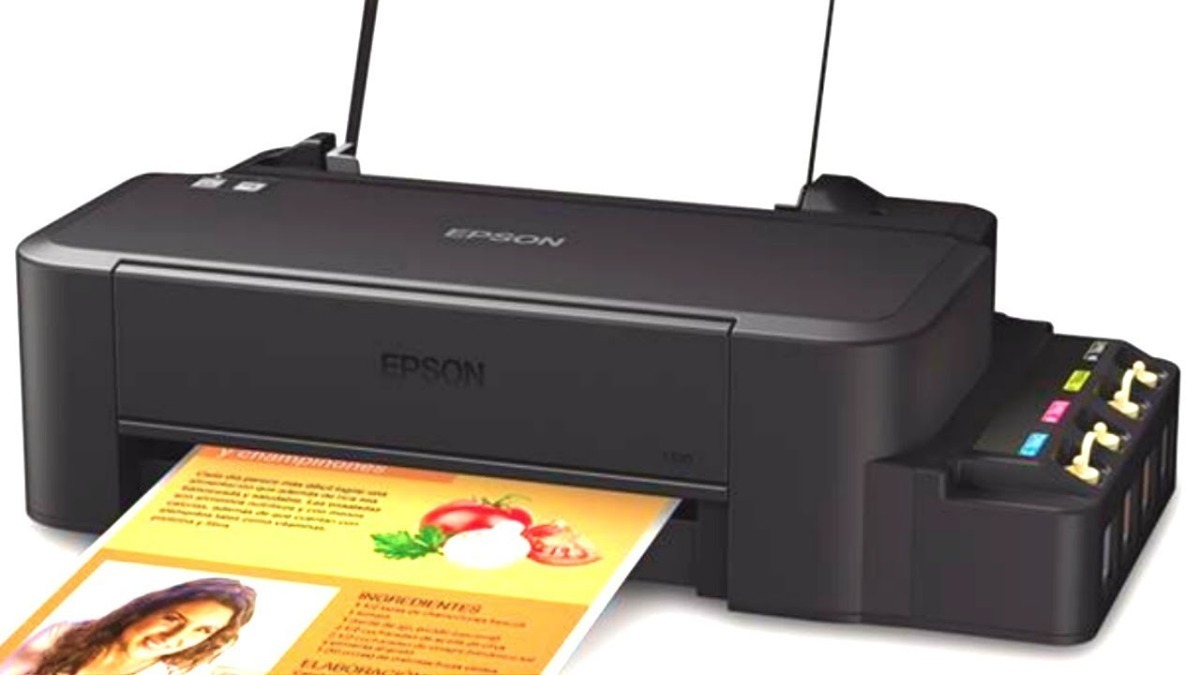 🥇 Instalar Impresora EPSON L120