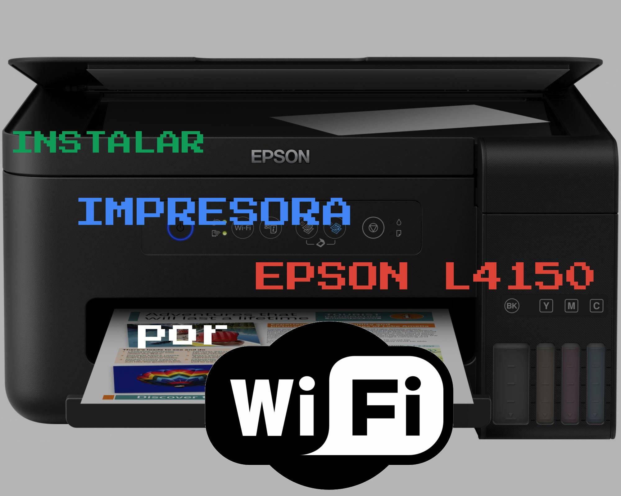 🥇 Como instalar una impresora EPSON L4150 por WiFi