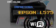 Instalar Impresora Epson L575 por WiFi