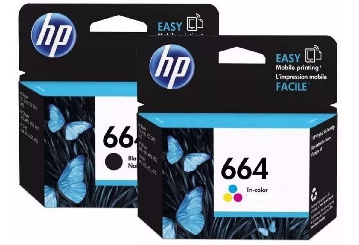 Que Impresora HP usa cartucho 664